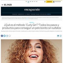 ¿Qué es el método 'Curly Girl'? Todos los pasos y productos para conseguir un pelo bonito sin sulfatos