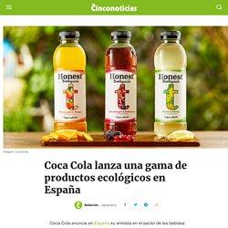 Coca Cola lanza productos ecológicos en España