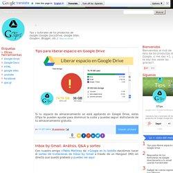 Tips para los productos de Google: Otras herramientas