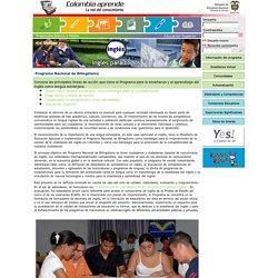 Productos del portal - Programa Nacional de Bilingüismo