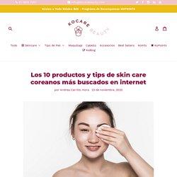 Andrea Carrillo mora Los 10 productos y tips de skin care coreanos más buscados en interne %article_desc% La cultura coreana ha revolucionado, no solo la música pop, sino también la industria cosmética. Los cientos de artistas que han logrado la fama mun