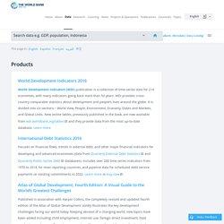The World Bank - Statistik
