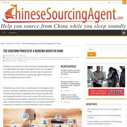 Finding quality products at an affordable price range can only be done if you partnered with a trusted China sourcing agent.