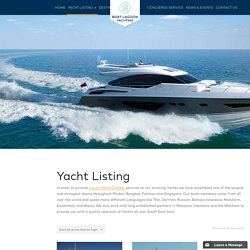Products Archive - Luxury Yacht Charter