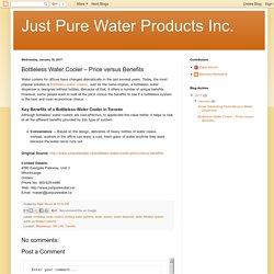 Bottleless Water Cooler – Price versus Benefits