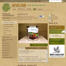 Products - Green Building Centre - Little Tree Bali