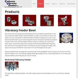 Products - California Vibratory Feeders, Inc.