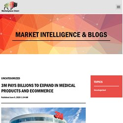 MEDICAL PRODUCTS AND ECOMMERCE - Marketplace Distri