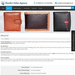 Genuine Leather Products,Leather Wallets Exporters & Suppliers
