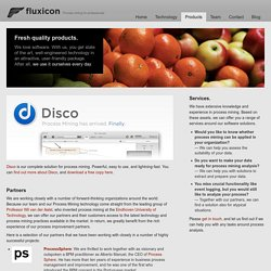 Products - Fluxicon - Process Mining