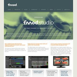 fmod - interactive audio middleware