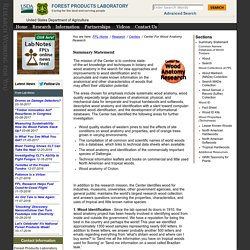 Forest Products Laboratory - USDA Forest Service