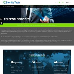 Telecom Products Manufacturer in India – Sterlite Tech
