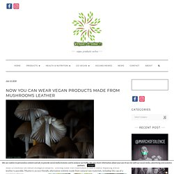 Now You Can Wear Vegan Products Made From Mushrooms Leather