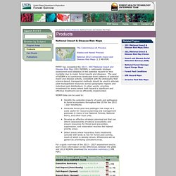FHTET Products - National Insect and Disease Risk Maps