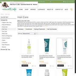 Organic Shampoo & Natural Hair Care Products