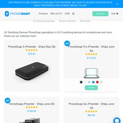Products – PhoneSoap