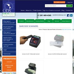 Products - Barcode Printers & Scanners - Barcode Scanners - Omni Data Services