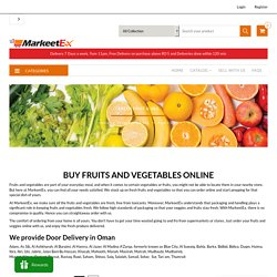 Buy Fresh Fruit & Veg products online Muscat Sohar Salalah Nizwa Sur– MarkeetEx