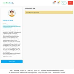 Public profile - Deborah M. Fahey - Buy Sell Used Products Online India