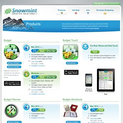 Products « Snowmint Creative Solutions LLC