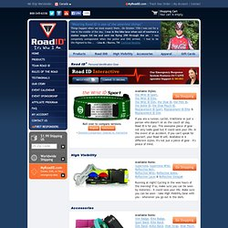 Road ID® Products: the Wrist ID Sport, Supernova, Accessories, Apparel Cycling & Gift Cards