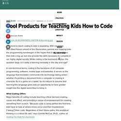 Cool Products for Teaching Kids How to Code