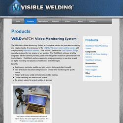 Products - Visible Welding