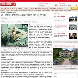 L'hôpital se chauffe en produisant son électricité - 19/12/2000