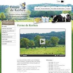 produit fermier quimper finistere vente directe ferme produit laitier naturel yahourt lait fromage glace 29 morbihan 56