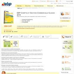 Produit - EBP Logiciel Compta & Gestion Commerciale Classic