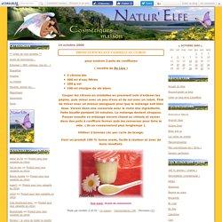 Produit pour lave vaisselle au citron - natur'elfe
