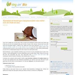 10 produits de beauté que vous pouvez faire vous-même avec de l'huile de coco - Veg an'bio
