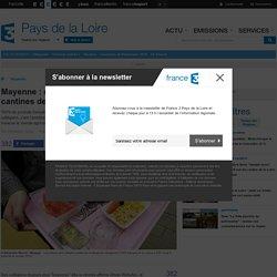 FRANCE 3 PAYS DE LA LOIRE 23/07/15 Mayenne : des produits locaux dans les cantines des collèges