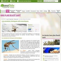 Les produits chimiques anti-moustiques