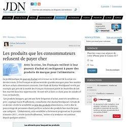 Les produits que les consommateurs refusent depayercher - Journal du Net Economie