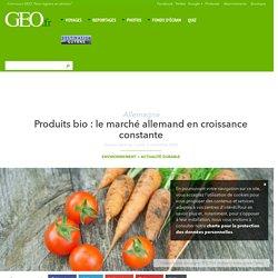 Produits bio : le marché allemand en croissance constante : Geo.fr