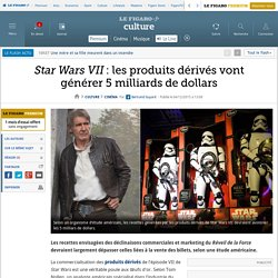 Star Wars VII : les produits dérivés vont générer 5 milliards de dollars
