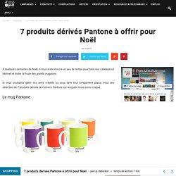 7 produits dérivés Pantone à offrir pour Noël - Il était une pub