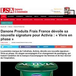 Activité n° 4 - doc 4 - Nouveau packaging pour Activia