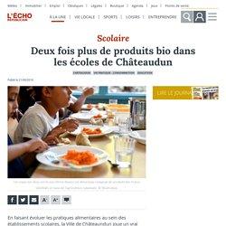 L ECHO REPUBLICAIN 21/09/18 Deux fois plus de produits bio dans les écoles de Châteaudun