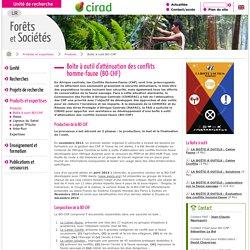 Boîte à outil BO-CHF / Produits / Produits et expertises - Unité de recherche Cirad - Forêts et sociétés