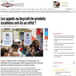 Les appels au boycott de produits israéliens ont-ils un effet?