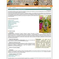 Dossier Les produits ménagers : nettoyez sans polluer !