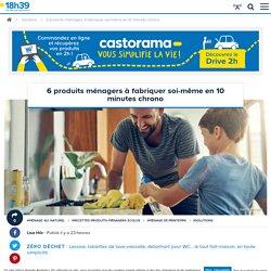 Comment faire ses produits ménagers maison ? 6 recettes faciles