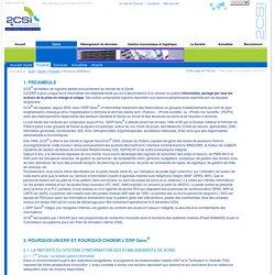 2CSI® : Santé - Produits - Pourquoi ERPSano