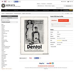 Dentol 1938 Vénus De Milo — Produits de beauté — publicité ancienne originale