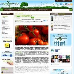 Les produits bio se vendent de mieux en mieux