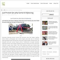 Jual Produk Qnc Jelly Gamat di Ajibarang - Qnc Jelly Gamat