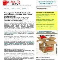 Produkt Pakete fuer die 21 Tage Stoffwechselkur? - To-Ma-Te News